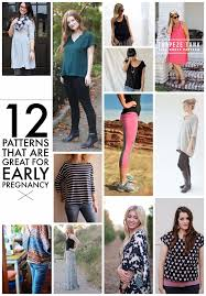 Maternity Patterns Impressive 48 Non Maternity Patterns Great For Early Maternity Wear