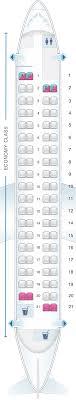 De Havilland Dash 8 400 Seating Chart Seat Map Croatia Airlines Dash8 Q400 Seatmaestro