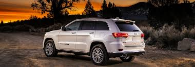 Jeep Grand Cherokee Trim Comparison Chart 2018 Jeep Grand Cherokee Exterior Color Options