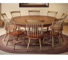 country farmhouse round pedestal table