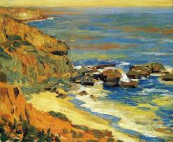hand painted reion of seascape study painting this masterpiece was painted originally by granville redmond commission your beautiful hand painted