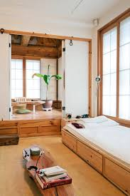 traditional korean furniture. Image Source Traditional Korean Hanoks: Bright Interior Of A Modernized Hanok With Wood And Clear White Details Furniture