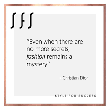 Fashion Beauty Secrets Christiandior Quotes Mystery