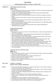 fast food manager resume fast food manager resume sample magdalene project org