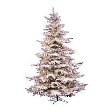 12 Of The Best Flocked Christmas Trees In Every Size  Chris Loves Slim Flocked Christmas Trees Artificial