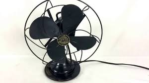 Vintage hunter oscillating fans