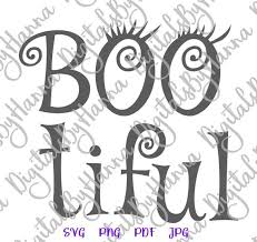 Then you can use all installed on font manger applictaion like microsoft word, adobe photoshop corel draw etc. Happy Halloween Svg Files For Cricut Bootiful Scary Clipart Invite Print Decoration Svg Files For Cricut