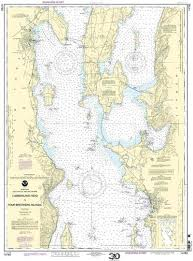 Chart 14782 14782 Cumberland Head To Four Brothers Islands