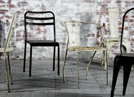 distressed industrial furniture. leta industrial chair distressed black furniture f