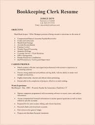 resume cover letter bookkeeper position