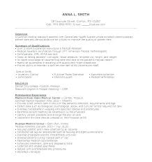 Examples Of A Medical Assistant Resume Resume Template Medical ...