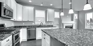 Backsplash Ideas For Black Granite Countertops Fascinating Black And White Countertops Black Countertop White Cabinets