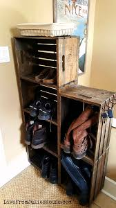 farmhouse style wooden crates diy storage ideas grillo designs grillo designs