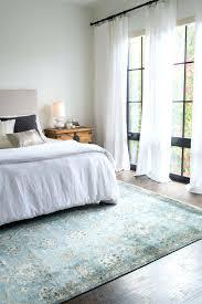 rug in bedroom curly craving statement rugs for every space bedroom rug arrangement