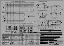 Курсовой проект Монтаж сборных железобетонных конструкций  чертеж Курсовой проект