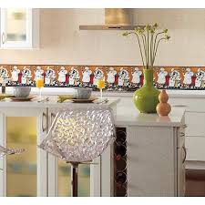 3 of 4 new chefs prepasted wallpaper a cookin border fat chef kitchen cafe wall decor