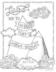 When the printable coloring sheet has loaded, click on the print icon to print it. Bible Verse Coloring Page Psalm 61 2 Printable Coloring Etsy Bible Verse Coloring Page Bible Coloring Pages Bible Coloring