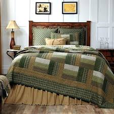 olive green bed set country bed comforter sets new rustic log cabin quilt olive green tan brown queen bedspread french quilts style bedding dark olive green