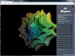 3d grapher draws functions parametric equations and supershapes in your browser