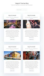 Blog Design Page How To Style Your Divi Blog Page To Look Like Elegant Themes