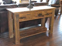 Diy Rustic Sofa Table Sofas Center Diy Sofa Table Reclaimed Wood Drawer Iron Furniture