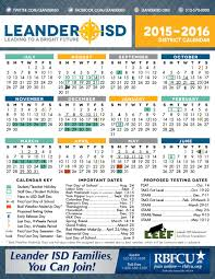 School Calendar 2015 16 Printable