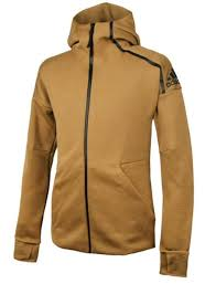 Details About Adidas Men Zne Hoody Jacket Training Gray Brown Hoodie Top Gym Tee Jersey Dp5142