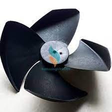 Cánh quạt 4 cánh, ĐK 34 cm, ngược chiều thay thế cho quạt điều hòa hơi nước