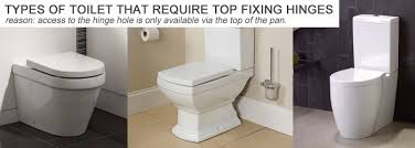 different types of toilet seat hinges. take a look at the examples below of different types toilet seat and fixings required. hinges u