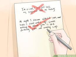 A common trick is to write the 'setup' during the verse, and the emotional 'payoff' in the chorus. How To Write Song Lyrics
