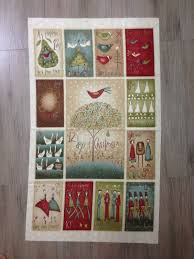 Joys of Christmas Quilt - The Cotton ShoppeThe Cotton Shoppe & Gorgeous quilt panel featuring the 12 Days of Christmas Adamdwight.com