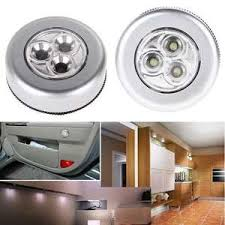 Купите 3 led <b>light</b> home car <b>lamp</b> night <b>light push touch</b> онлайн в ...