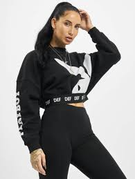 The singer got real about his ever. Playboy X Def Damen Pullover Crewneck In Schwarz 769729