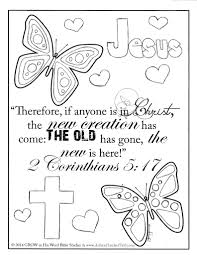 Free Coloring Pictures Of Bible Characters Fortune John 3 16