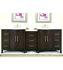 charming bathroom cabinets double vanity vanities cool sink inch ca costco mission hills