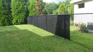 privacy fence slats great solution for your chain link fence tw