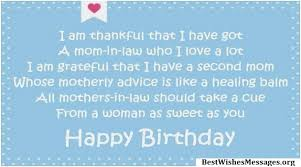 40 Happy Birthday Wishes Messages Quotes For MotherinLaw Adorable Loving Mother In Law Quotes