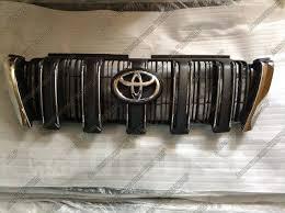 <b>Штатная решетка</b> Toyota Prado 150 2013 - 2017 гг. (черная ...