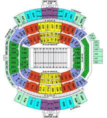 Georgia Florida Football Seating Chart Details About 4 Georgia Bulldogs V Florida Gators Football Tickets Uga Section 329