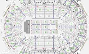 Barclays Wrestling Seating Chart Barclays Center Detailed Seating Chart Seat Numbers 33