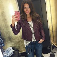 Nordstrom Anniversary Sale: Hits and Misses (Part 1) - Sophistifunk & BLANKNYC Quilted Faux Leather Moto Jacket in Oxblood [$98.00 —-> $63.90]  Wearing size small — Fits TTS Adamdwight.com