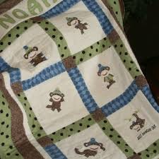 44 best Monkey quilts images on Pinterest   Comforters, For kids ... & Monkey quilt Adamdwight.com