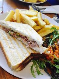 Tuna Sandwich On White Bread Picture Of Tasty Station Lahinch