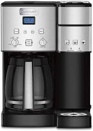 The problem could be anything from calcium buildup to faulty wiring, and a simple examination of your machine could give you the answer you're looking for. Cuisinart Ss 15 Review 2020 Best Combo Coffee Maker