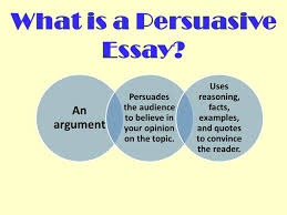 writing a persuasive essay ppt video online  what is a persuasive essay