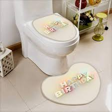 Amazoncom Printsonne Non Slip Bathroom Mats Set Happy Birthday