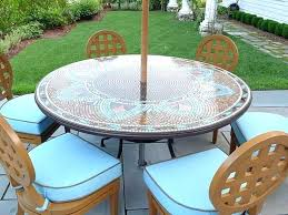 patio patio table cloth vinyl tablecloth the most no sew with umbrella lovely furniture round
