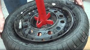 learn the proper way of mounting and balancing your own car tire