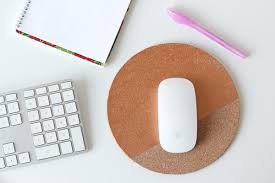cork mousepad diy