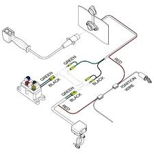 mini rocker handlebar switch kfi atv winch mounts and accessories see below wiring schematic